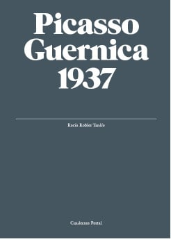 Picasso. Guernica, 1937. Cuadernos Postal (eng)