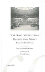 Warburg Continuatus. Descripción de una biblioteca - Checa, Fernando