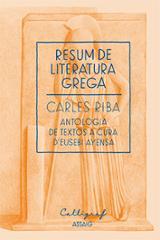 Resum de literatura grega - Riba, Carles