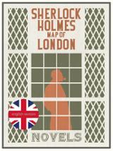 Sherlock Holmes. Map of London