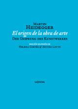 El origen de la obra de arte (bilingüe) - Heidegger, Martin