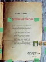 Quema los diarios - Davey, Moyra