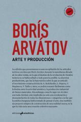 Arte y producción - Arvátov, Borís