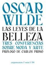 Las leyes de la belleza - Wilde, Oscar