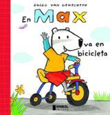 En Max va en bicicleta