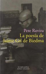 La poesía de Jaime Gil de Biedma