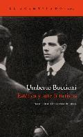 Estética y arte futuristas - Boccioni, Umberto