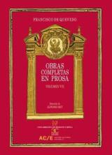 Obras Completas, Vol. VII - de Quevedo, Francisco