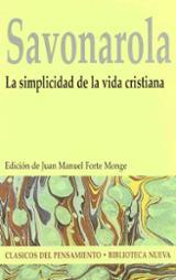 La simplicidad de la vida cristiana - Savonarola, Girolamo