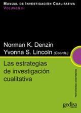 Manual de investigación cualitativa III: Las estrategias de inves