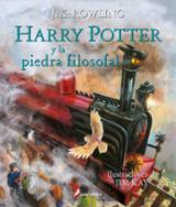 Harry Potter y la piedra filosofal (tapa dura- ilustrado)