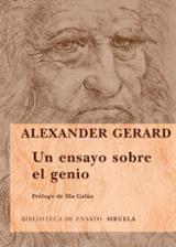 Un ensayo sobre el genio - Gerard, Alexander