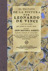 El tratado de la pintura por Leonardo da Vinci  y los tres libros