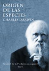 Origen de las especies. Facsímil (1877)