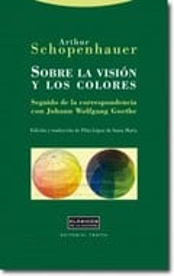 Sobre la visión y los colores. Seguido de la correspondencia con