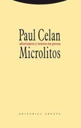 Microlitos. Aforismos y textos en prosa