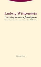 Investigaciones filosóficas - Wittgenstein, Ludwig