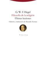 Filosofía de la religión - Hegel, Georg Wilhelm Friedrich