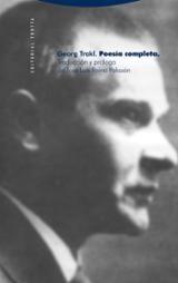 Poesía completa - Trakl, Georg