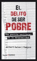 El delito de ser pobre - Sales i Campos, Albert