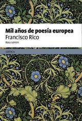 Mil años de poesía europea