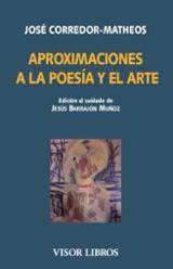 Aproximaciones a la poesía y el arte - Corredor-Matheos, José