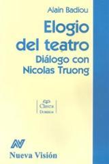 Elogio del teatro. Diálogo con Nicolás Truong