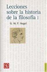 Lecciones sobre la historia de la filosofía, 1 - Hegel, Georg Wilhelm Friedrich