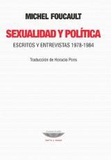 Sexualidad y política. Escritos y entrevistas 1978-1984