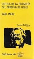 Crítica de la filosofía del derecho de Hegel