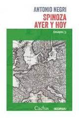 Spinoza ayer y hoy - Negri, Antonio