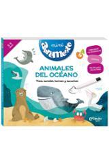 Abremente mini. Animales del océano - AAVV