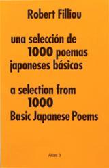 Una selección de 1000 poemas japoneses básicos - Filliou, Robert