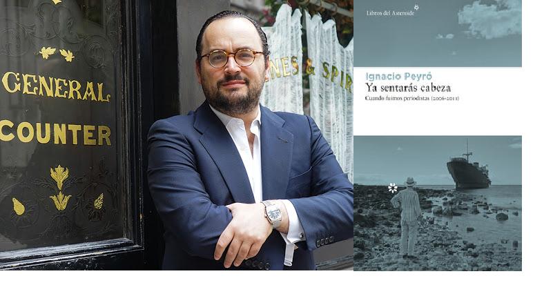 APLAZADO<br /> Ignacio Peyró firma