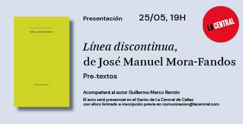 <div><em>Línea discontinua</em>, deJosé Manuel Mora-Fandos</div>